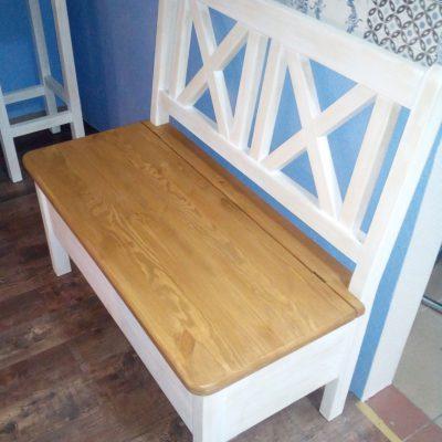 Ławeczka drewniana